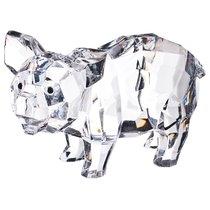Комплект Из 4-Х Фигурок Свинка 11x7x4 см Дизайн Горный Хрусталь - Polite Crafts&Gifts