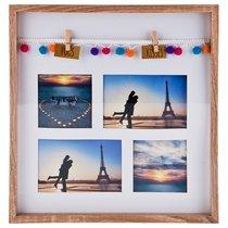Фоторамка Семейная На 4 Сюжета 34,5x36,5x3 см - Polite Crafts&Gifts