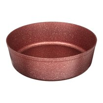 Форма Agness Премиум Red Queen Круглая 24X7 см Трехслойное Покр Granit, Pfoa Free - ISFA Metal Tekstil