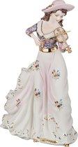 Статуэтка Девушка Со Скрипкой 19x12 см Высота 33 см - Sabadin Vittorio