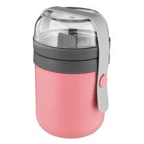 Двойной контейнер для ланча Leo, цвет розовый - BergHOFF