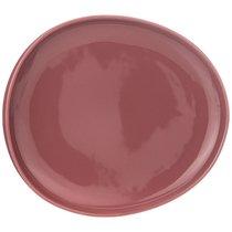 Тарелка Закусочная Fusion 23x20,5 см,Брусничная 4 шт. - Porcelain Manufacturing Factory