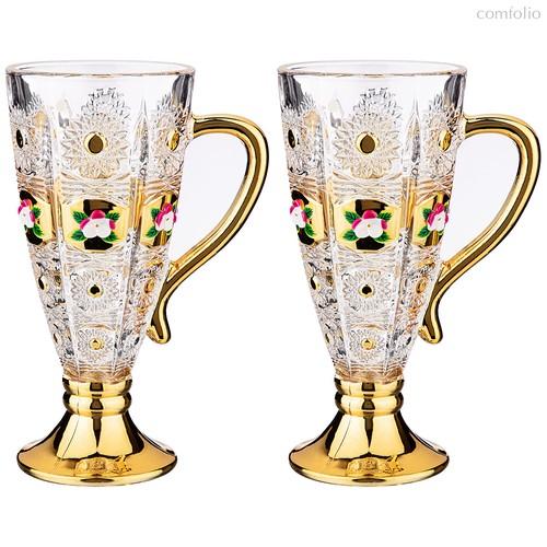 Набор Из 2-Х Кружек Lefard Gold Glass 250 мл Высота 16,5 см. - I AND A