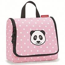 Сумка-органайзер Toiletbag panda dots pink - Reisenthel