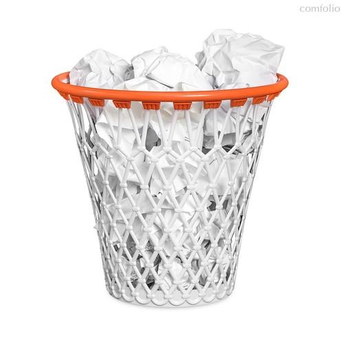 Корзина для бумаг Basket, цвет белый - Balvi