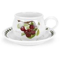 """Чашка для завтрака с блюдцем Portmeirion """"Помона.Вишня"""" 270мл - Portmeirion"""