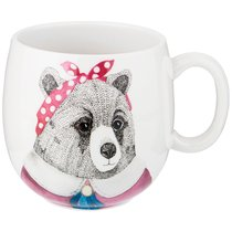 Кружка Fashion Animals Медведица, 560 мл - Jinding