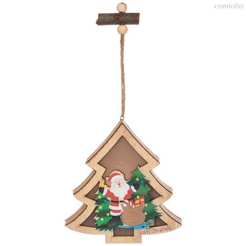 Декоративное Изделие Новогоднее Украшение с Подсветкой 12x12x2,5 см Без Упаковки - Polite Crafts&Gifts