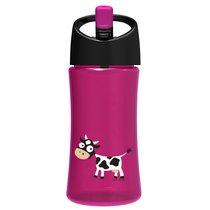 Детская бутылка для воды Carl Oscar Cow 0.35л фиолетовая, цвет фиолетовый - Carl Oscar