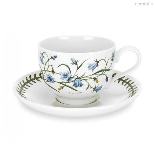 """Чашка чайная с блюдцем Portmeirion """"Ботанический сад. Колокольчик"""" 280мл - Portmeirion"""