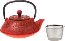Заварочный Чайник Чугунный С Эмалированным Покрытием Внутри 400 мл - Ningbo Gourmet