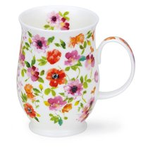 """Кружка Dunoon """"Красные цветы.Саффолк"""" 310мл - Dunoon"""