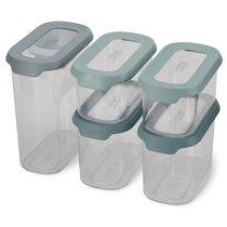 Набор из 5 контейнеров для хранения CupboardStore опал - Joseph Joseph