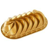 """Форма для выпечки 3D Nordic Ware """"Достояние"""" овальная на 1,4 л, литой алюминий - Nordic Ware"""