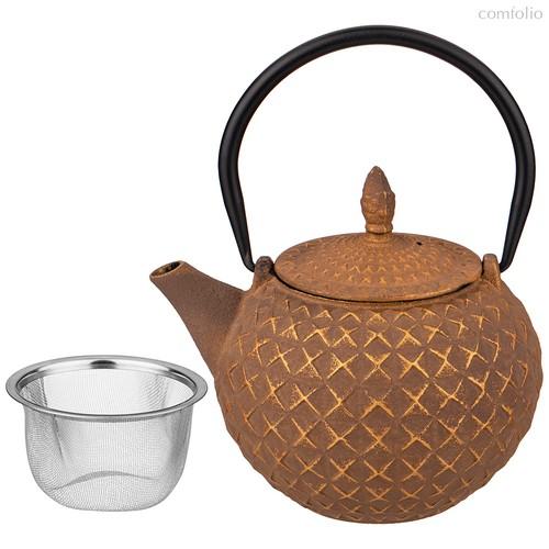 Заварочный Чайник Чугунный С Эмалированным Покрытием Внутри 850 мл - Ningbo Gourmet