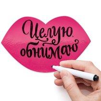 Магнит для записей Melompo губы - Melompo