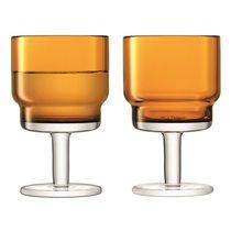 Набор из 2 бокалов для вина Utility, 220 мл, охра - LSA International