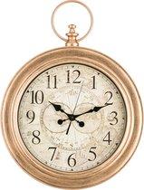Часы Настенные Кварцевые Italian Style 62X46X8 смДиаметр Циферблата 34 см - Arts & Crafts