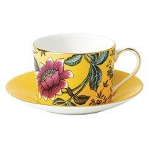 Чашка чайная с блюдцем Wedgwood Вандерласт Тонкин 150мл - Wedgwood