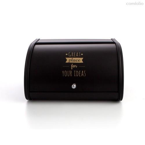 Хлебница B&W Negra, цвет черный - Quid