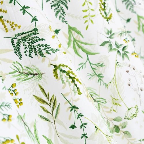 Ткань хлопок Хвоя ширина 280 см арт. 3047/ 047, цвет зеленый - Altali