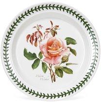 """Тарелка обеденная Portmeirion """"Ботанический сад.Розы. Наилучшие пожелания чайная роза"""" 25см - Portmeirion"""