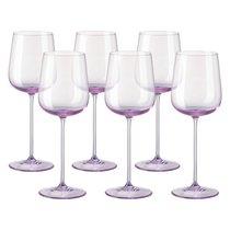 "Набор бокалов для белого вина Rosenthal ""Турандот"" 260мл (розовый), 6шт - Rosenthal"