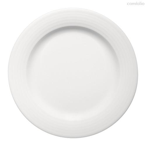 Тарелка круглая 31 см, плоская c бортом, Dialog - Bauscher
