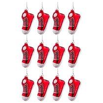 Набор Из 12-Ти Декоративных Изделий Кроссовок Красный 8,5x3,5x5 см - Dalian