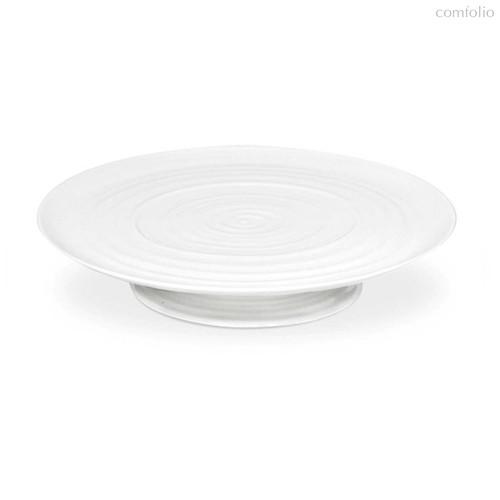 """Блюдо на ножке Portmeirion """"Софи Конран для Портмерион"""" 32см (белое) - Portmeirion"""