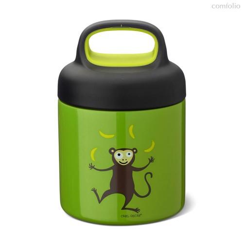 Термос для еды LunchJar™ Monkey 0.3л лайм, цвет лайм - Carl Oscar