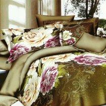 Комплект постельного белья SF-20, цвет оливковый, размер 2-спальный - Home Collection