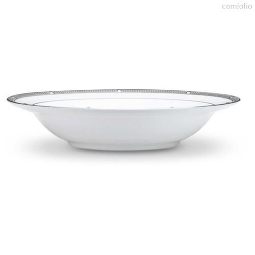 """Чаша для десерта Noritake """"Рочель,платиновый кант"""" 16см - Noritake"""