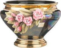 Кашпо Под Цветы Розы Черная Высота 28 см Диаметр 40 см (Кор 1 шт. ) - Ceramiche Stella