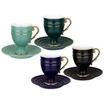 Чайный Набор Lefard На 4 Персоны 8 Пр. 250 мл Микс - Rongshengyuan