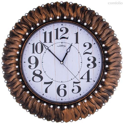 Часы Настенные Кварцевые Диаметр 52 см Диаметр Циферблата 33 см - Aypas