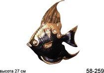 Фигурка Черная Рыбка Высота 27 см - Jinding
