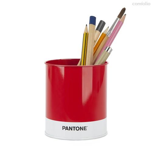 Подставка для канцелярских принадлежностей Pantone красная, цвет красный - Balvi