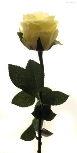 Роза Богема желтая 65 см живое прикосновение (24 шт.в упак) - Top Art Studio