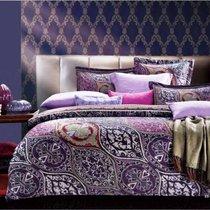 Комплект постельного белья SDS-60, цвет сиреневый, 2-спальный - Famille