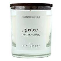 Свеча ароматическая The Olphactory, Grace Black, Мята и базилик, 40 ч - Ambientair