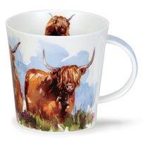 """Кружка Dunoon """"Высокогорные быки.Кернгорм"""" 480мл - Dunoon"""