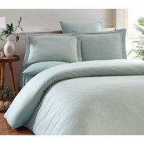 Постельное белье Karna Ruya, бамбук, цвет ментоловый - Karna (Bilge Tekstil)
