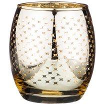 Подсвечник Золотодиаметр 8 см Высота 9 см Без Упаковки - Dalian