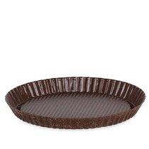 Форма для выпечки пирога рифлёная Brownstone 27.5x3cm, антипригарное покрытие - Moulin Villa