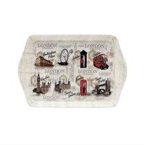 Поднос для сндвичей Старый Лондон 21х14см - The Leonardo Collection