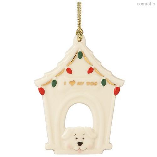 """Украшение новогоднее Lenox """"Моя любимая собака"""" 9см - Lenox"""