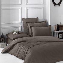 Постельное белье Karna Loft, однотонное, цвет коричневый, размер 1.5-спальный - Karna (Bilge Tekstil)