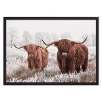 Исландские коровы, 21x30 см - Dom Korleone