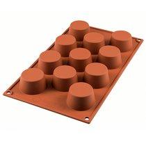Форма для приготовления маффинов Mini Muffin 18 х 30,6 см силиконовая - Silikomart